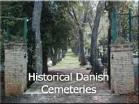 Click on picture to visit the historical danish cemeteries